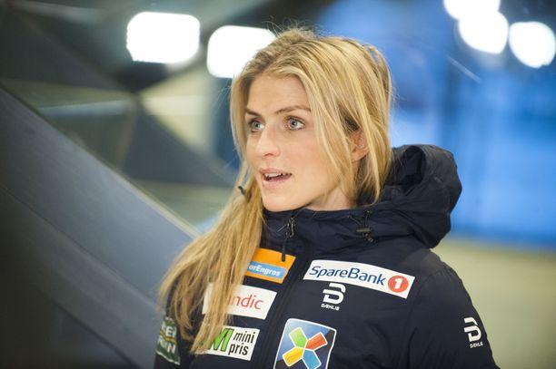 Therese Johaug kukisti Marit Björgenin ennen viime talven olympialaisia.