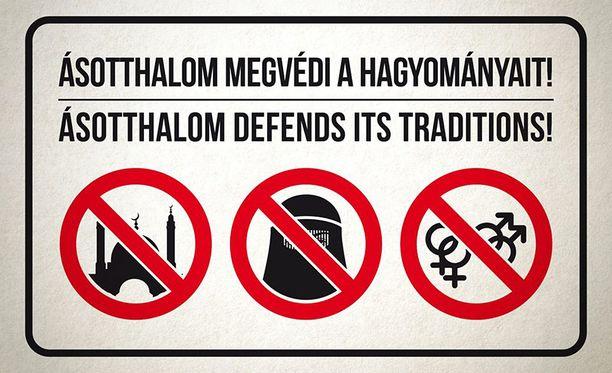 Moskeijat, burkat ja gay-väki on kielletty unkarilaiskylässä.