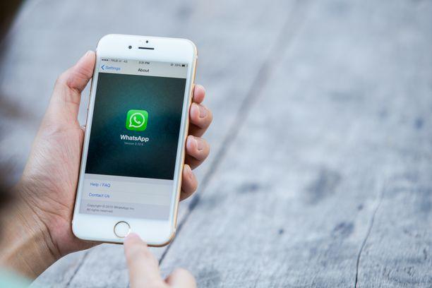 Whatsapp on yksi maailman suosituimpia mobiilisovelluksia.