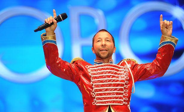 DJ Bobo on reissanut Circus-kiertueellaan uusimman levynsä myötä.