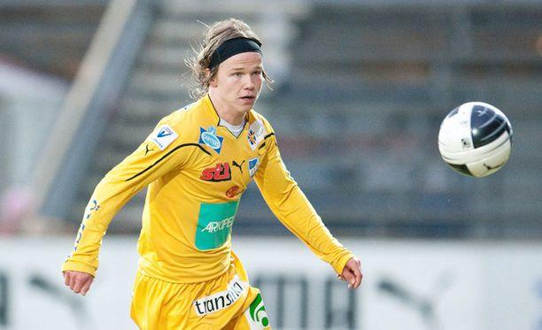 IFK Mariehamnin Petteri Forsell antaa tekojen puhua puolestaan.