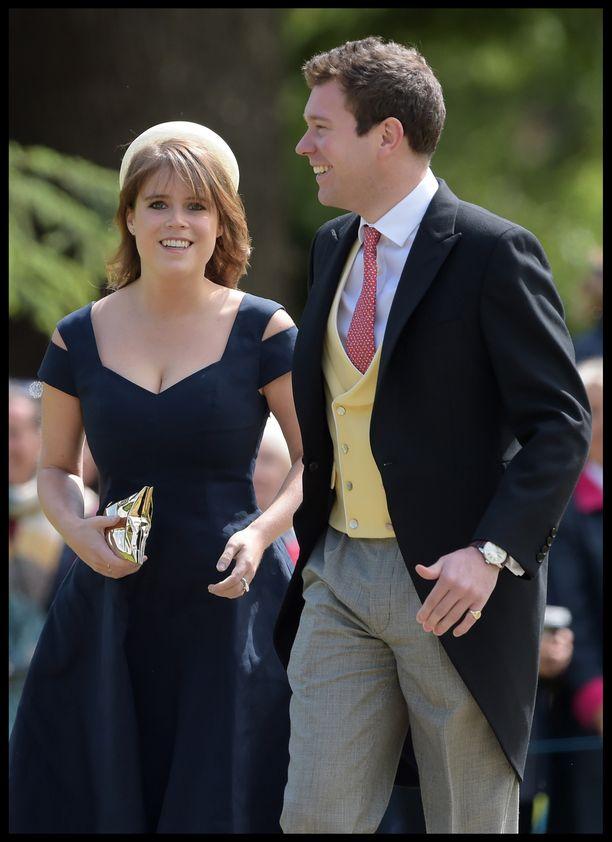 Prinsessa Eugenie, 28, ja Jack Brooksbank, 31, ehtivät olla yhdessä seitsemän vuotta ennen avioitumista.