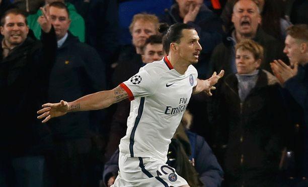 Zlatan oli PSG:n sankari ranskalaisseuran voittaessa Chelsean.