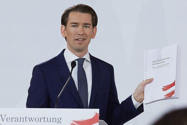 Sebastian Kurzin hallitus vannoi tänään virkavalansa.