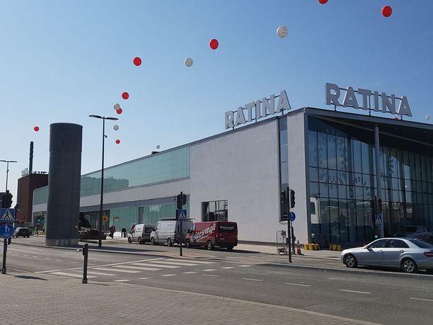 Ostoskeskus Ratina avataan Tampereella 19.4.2018.