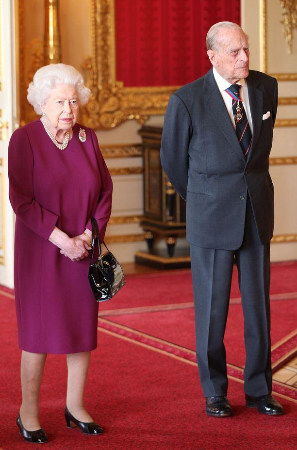 Elisabet ja Philip menivät naimisiin vuonna 1947.