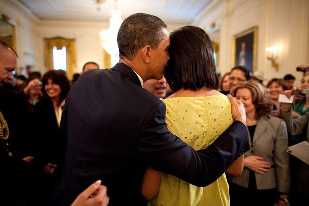 Barack Obama ja Michelle Obama ovat olleet jo vuosia yhdessä.