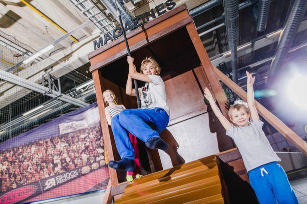 Superparkin mukaan sen ideana on saada lapset, nuoret ja lapsiperheet liikkumaan yhdessä.