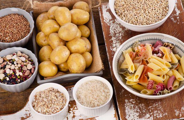 Palkokasvit, täysjyvä, kasvikset sekä peruna sisältävät ruoansulatuksella tärkeää kuitua luonnostaan.