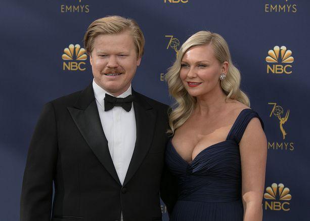 Kirsten Dunstin kihlattu Jesse Plemons oli Emmy-gaalassa Black Mirror: USS Callisterista ehdolla parhaan minisarjan tai televisioelokuvan miespääosan palkituksi.