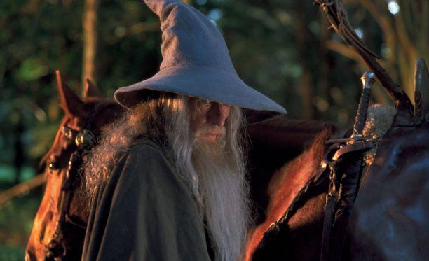 Gandalf elokuvassa Taru sormusten herrasta: Sormuksen ritarit.