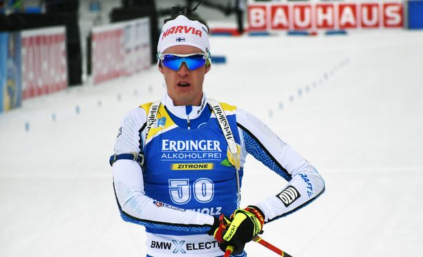 Tero Seppälällä oli tuskainen päivä Alpeilla.