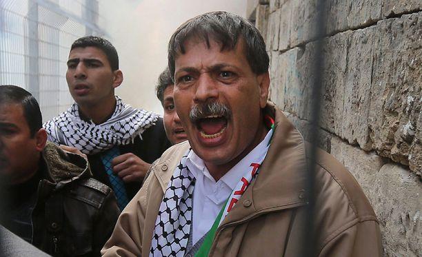 Ziad Abu Ein kuoli Länsirannalla.