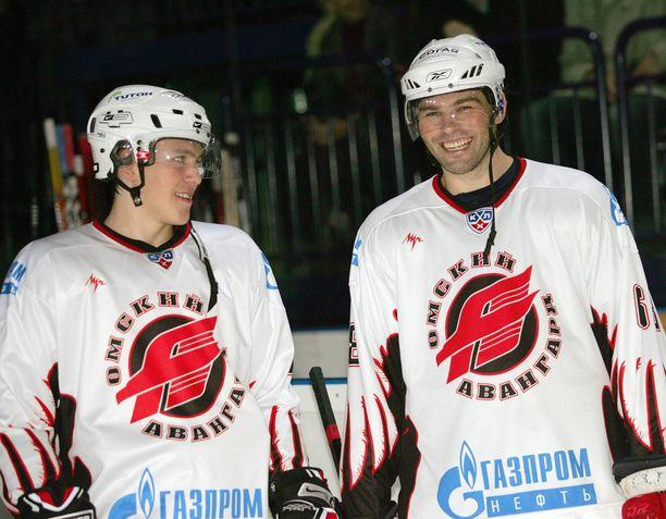 19-vuotias Tsherepanov oli Jaromir Jagrin oppipoika.