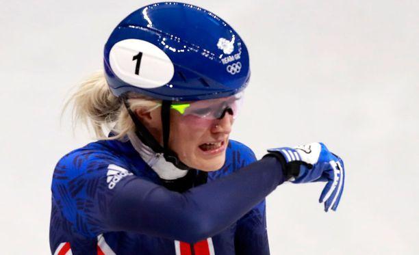 Elise Christien mitalihaave 500 metrillä suli jälleen.