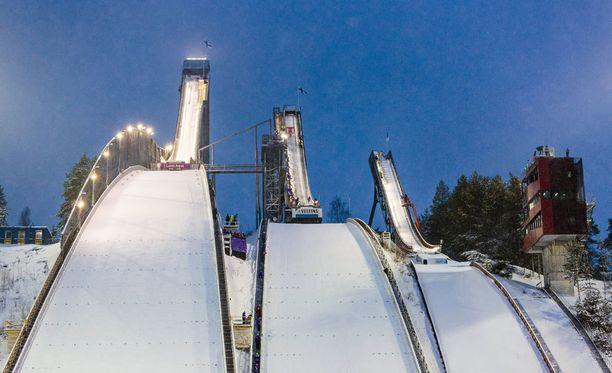 Lahden hiihtostadionin ympäristö halutaan rauhoittaa lennokeilta.