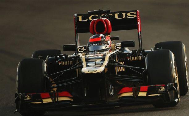 Kimi Räikkönen teki turhan reissun Abu Dhabiin.