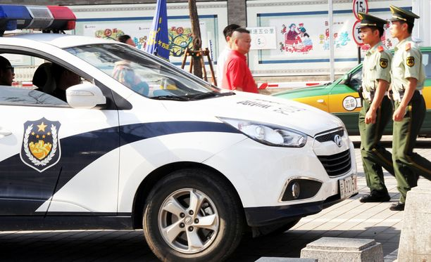 Kiinan viranomaiset ilmoittivat, että tapahtumaan pääsee vain lippujen kanssa. Kuvituskuva.