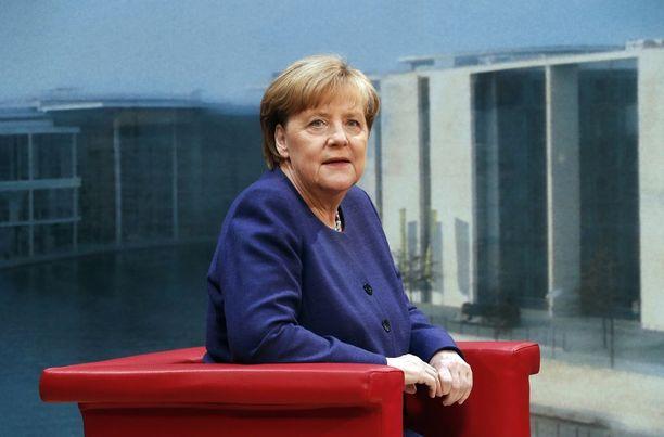 Liittokansleri Angela Merkel kampanjoi parhaillaan syyskuun parlamenttivaaleja varten.