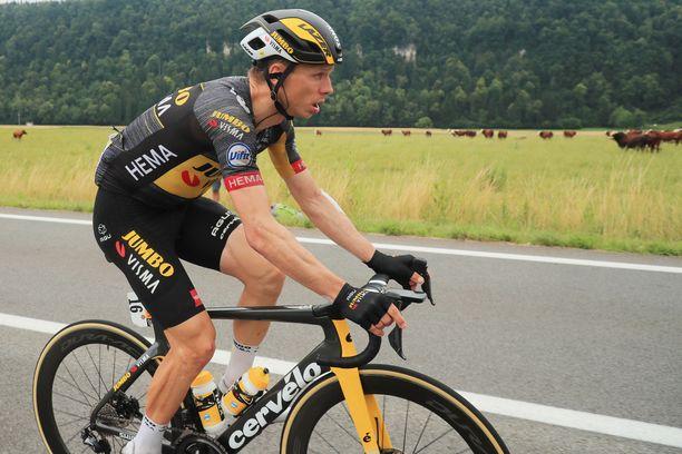 Saksalainen Tony Martin joutui jättämään Tour de Francen kesken.