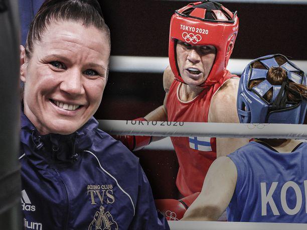 Mira Potkosesta tulee nyrkkeilyn olympiahistorian vanhin mitalisti Tokiossa.