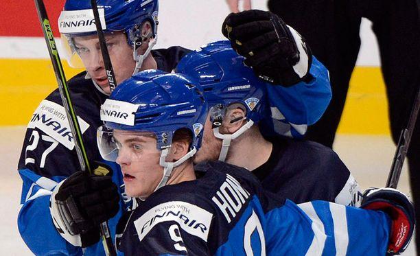Suomi voitti Saksan viime yönä 2-0.