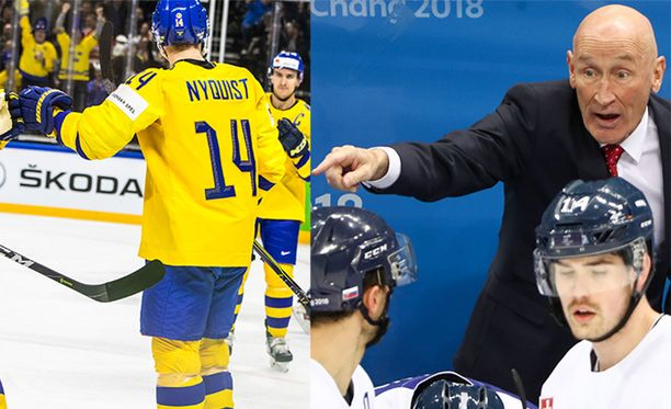 Slovakian päävalmentaja Craig Ramsay väittää Ruotsin hyökkääjän Gustav Nyquistin sukeltaneen jatkoajalla.