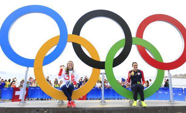 Olympiarenkaat ovat tarunhohtoinen näky.