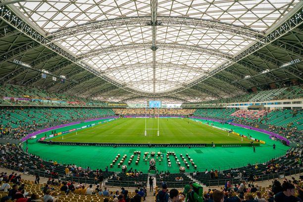 Australia ja Uruguay kohtasivat Oitan stadionilla.