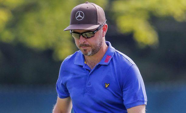 Golfammattilainen Mikko Korhonen pelasi torstaina Yhdysvalloissa ensimmäistä kertaa major-turnauksessa.