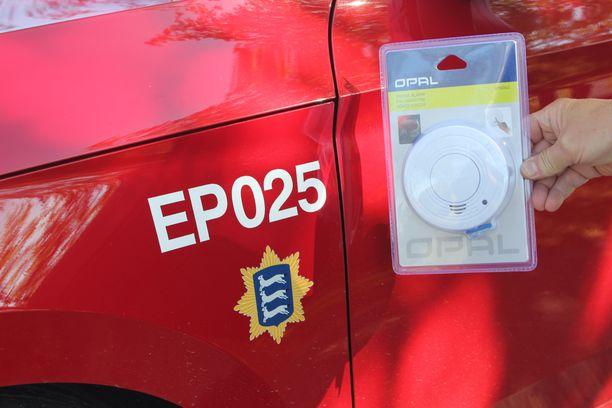 Palovaroitin on hengenpelastaja, jonka toimintakunto on varmistettava säännöllisesti.