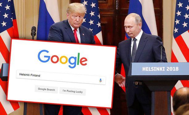 Suomeen liittyvät Google-haut lisääntyivät Huippukokouksen aikaan.
