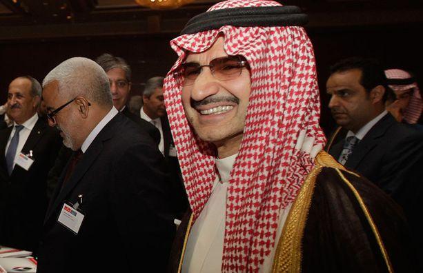 Saudiprinssi Al-Waleed bin Talal on myös pidätetty.