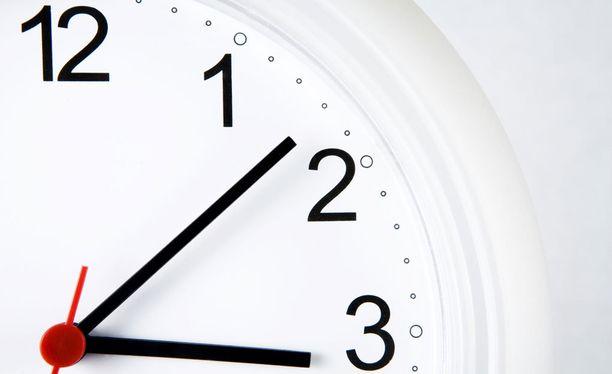 Kellot siirretään kesäaikaan eli tunnilla eteenpäin sunnuntaina.