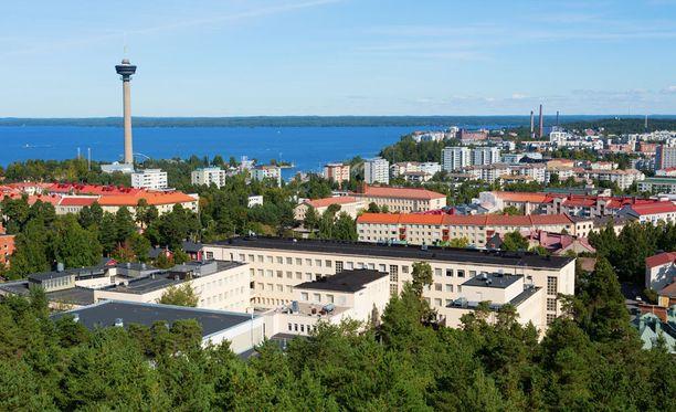 Tampere on vetovoimaisin.