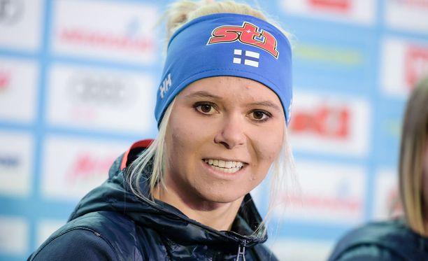 Mari Laukkanen selvisi kirkkaasti jatkoon sprintin karsinnasta.