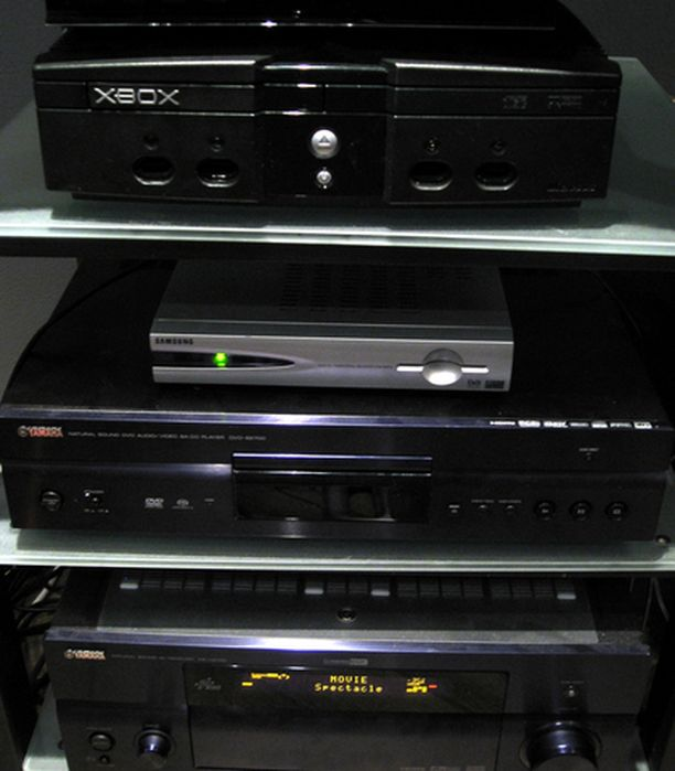 Laitteistosta löytyy muun muassa Xbox-pelikonsoli perheen pienimpiä varten.