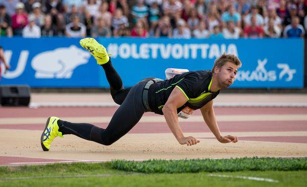 Antti Ruuskanen oli kolmas Paavo Nurmi Gamesissa.