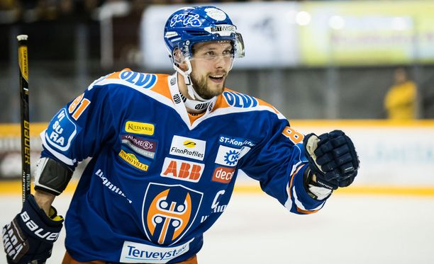 Jukka Peltola teki neljännessä finaaliottelussa tehot 1+1.