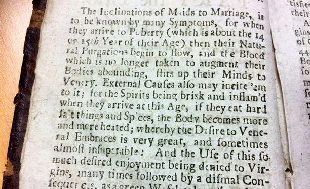 Kirja oli kielletty 250 vuotta, koska sen sisältöä pidettiin liian shokeeraavana.