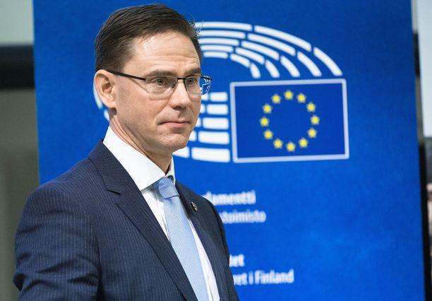 EU-komissaari Jyrki Katainen palaa Suomeen.