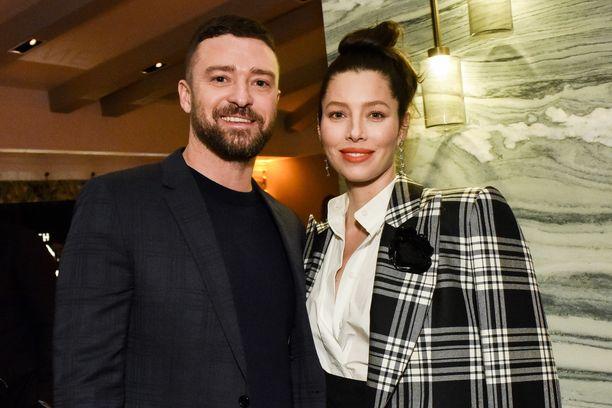 Justin Timberlake ja Jessica Biel ovat olleet yhdessä vuodesta 2007.