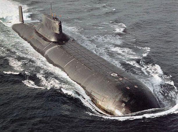 Typhoon-luokan sukellusvene.
