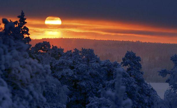 Tänään on talvipäivänseisaus, eli vuoden lyhin päivä.