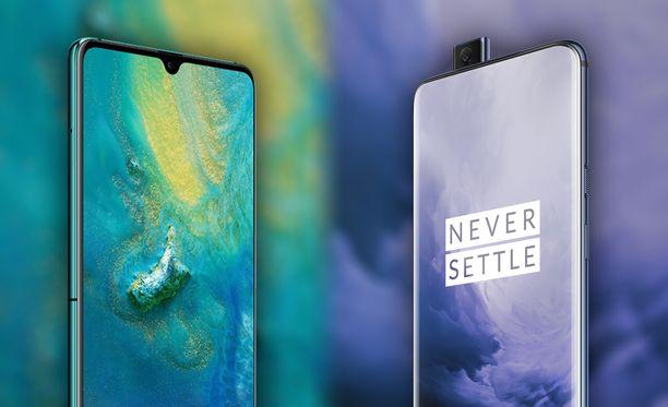 Huawei ja Oneplus ovat tuoneet markkinoille ensimmäiset 5G-puhelimensa.