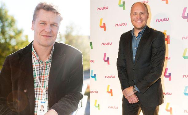 Toni Nieminen ja Kalle Palander konsultoivat henkisestä valmennuksesta.