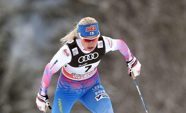 Anne Kyllöseltä vaaditaan olympianäyttöjä Planicassa.