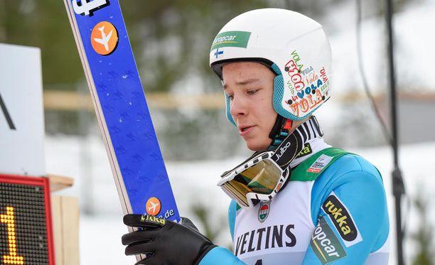 Eero Hirvonen oli osa Suomen nuorten MM-pronssijoukkuetta.