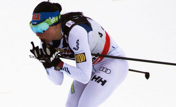 Krista Pärmäkoski on kolmas ennen Tour de Skin viimeistä etappia.