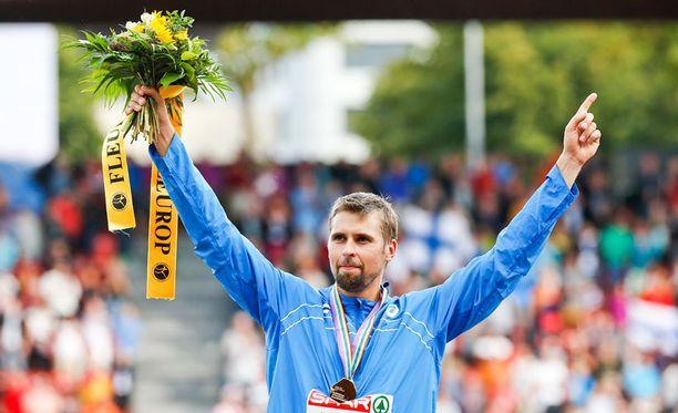 Antti Ruuskanen on keihään Euroopan mestari.
